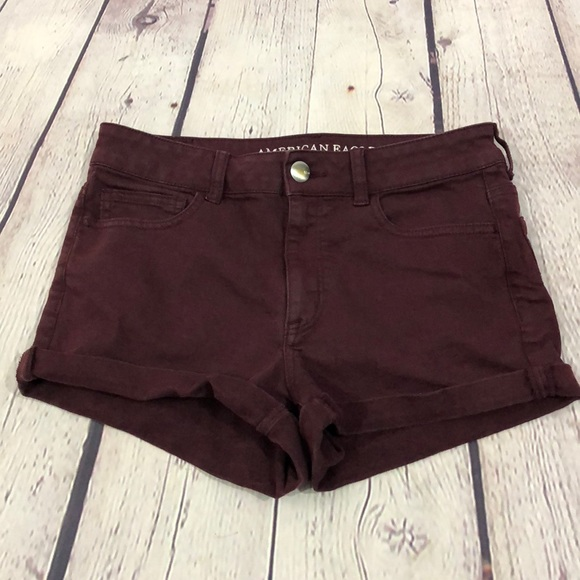 American Eagle Outfitters Pants - American Eagle Hi Rise Shortie Shorts